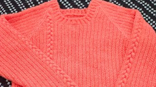 Girls/Ladies full baju sweater step by step in Hindi#290*#2019.