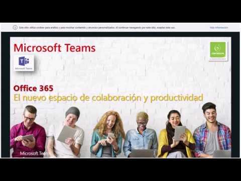 Webinar: Conozca Microsoft Teams