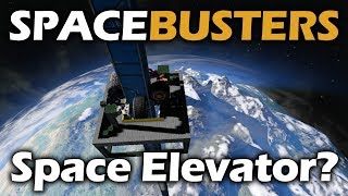 Space Busters | Can We Make a Space Elevator? | Space Engineers