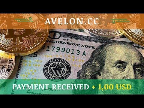 Avelon.cc отзывы 2019, обзор, получил выплату + 1,00 USD, Free bonus 100 Ghs and start mining
