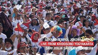 GOYANG JEMPOL JOKOWI GASPOL LIVE FROM KRIDOSONO YOGYAKARTA