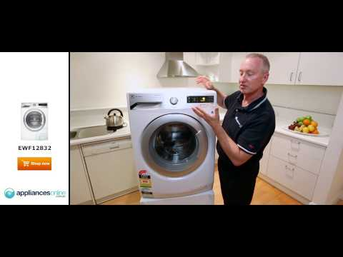 Expert review of the 8kg Electrolux Washing Machine EWF12832 - Appliances Online