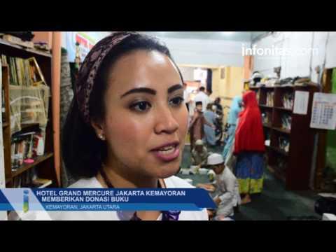 Hotel Grand Mercure Jakarta Kemayoran Memberikan Donasi Buku