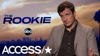 'The Rookie's' Nathan Fillion On What Really Goes Into Running On Camera | Access