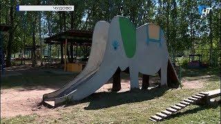 Председатель областной Думы Елена Писарева посетила десткие сады в Чудовском районе
