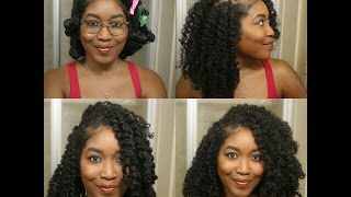 Loose Waves W/ A Deep Side Part Using Coco Conscious Collective
