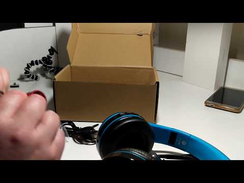 Unboxing - Bakeey™ B3 HIFI Powerful Bass Bluetooth Wireless Headphones with Mic from Banggood
