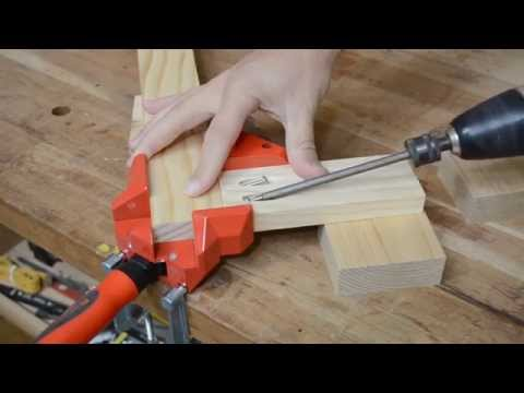 Bessey WS3 right angle woodworking clamp