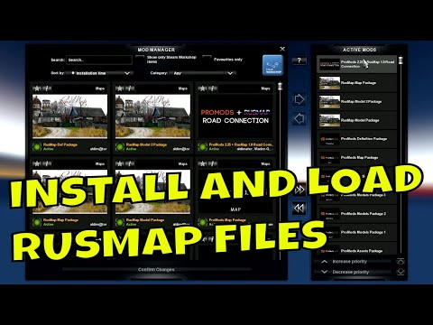 ETS2 1 33 I Big Map Setup I Promods 2 32 I Load Order