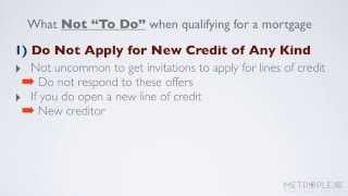"""What Not """"To-Do"""" When Qualifying for a USDA Loan"""