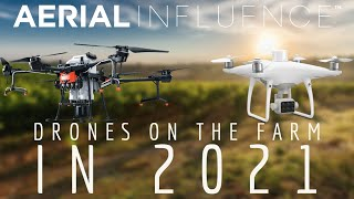 Top Uses for Drones on the Farm in 2021