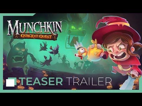 Munchkin: Quacked Quest - Teaser Trailer thumbnail