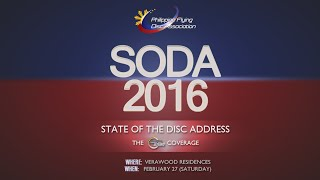 PFDA State of the Disc Address (SODA) 2016