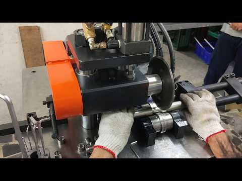 TD-41860Hydraulic Metal Tube Cutter and Grooving Machine,grooving machine,cutting machine,Tube rolling machine, tube shrinking machine, groove wheel machine, wheel convex machine, pipe cutting machine, wheel cutting machine