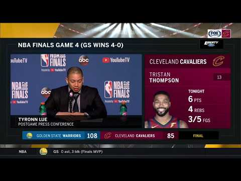 Tyronn Lue full postgame press conference after Cavs lose NBA Finals to  Warriors 105e62406