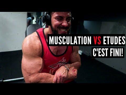 Les exercices pour les muscles pour prendre la masse
