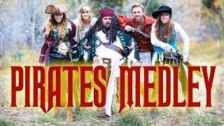 Disney's Pirates of the Caribbean Medley - Peter Hollens & Gardiner Sisters (Devinsupertramp)