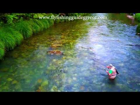Fly fishing guide Greece