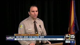 MCSO sheriff announces no hold on undocumented immigrants