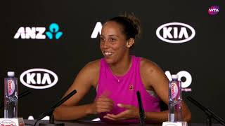 Madison Keys Press Conference | 2019 Australian Open First Round