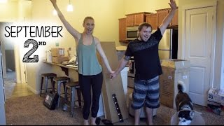 APARTMENT REVEAL!!! (SUPER LONG MOVING DAY VLOG)