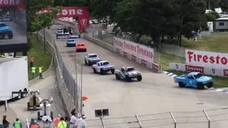 Super_Trucks - Detroit2016 Race 2 Mingay Huge Crash Amateur