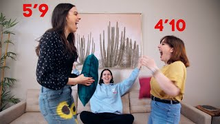 OPPOSITE SISTERS SWITCH CLOSETS - TALL VS. SHORT