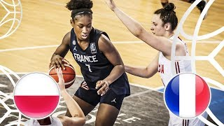 Poland v France - Full Game - FIBA U18 Women's European Championship 2018