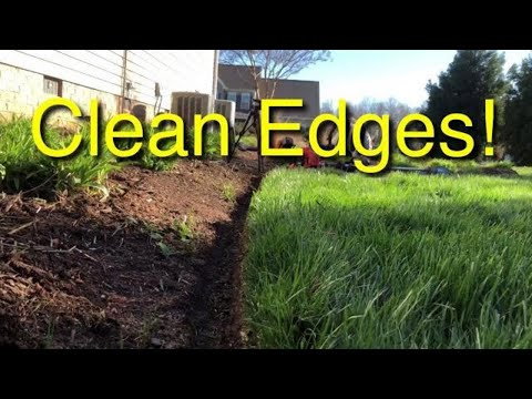 How To Have Clean Edges In A Lawn