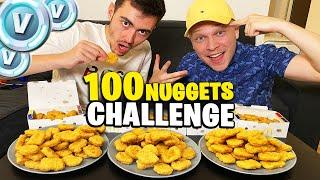 100 NUGGETS MCDO CHALLENGE ! Celui qui perds donne 10 000 v-bucks...