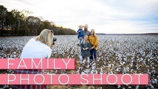 Family Photo Shoot - Behind The Scenes