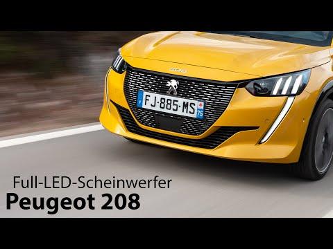 Peugeot 208: Full-LED-Scheinwerfer Test [4K] - Autophorie