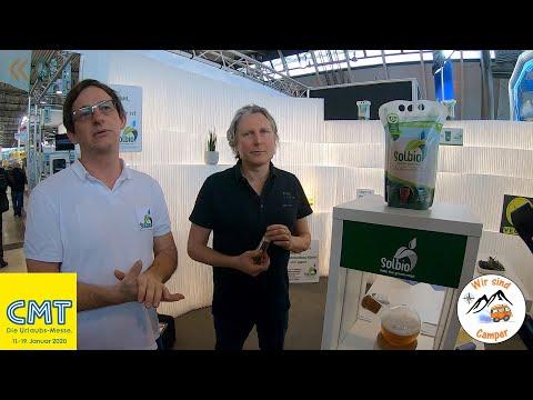 Solbio, die biologische Sanitärflüssigkeit für mobile Toiletten | CMT 2020