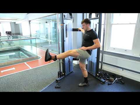 How To Do Standing Cable Leg Extension | Exercise Demo