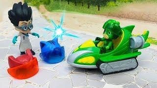 Мультики для детей с игрушками Герои в масках - План Ромео! Игрушечные видео