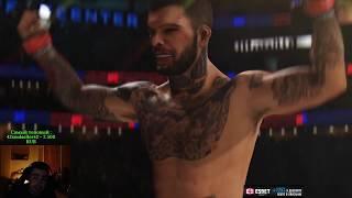 ВЫБИВАЕМ ВСЕ ДЕР***, СТРЕЙ ИГРАЕТ В UFC