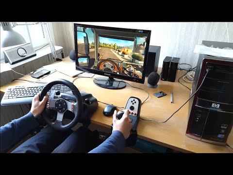 Euro Truck Simulator 2 - Scandinavia DLC - Logitech G27