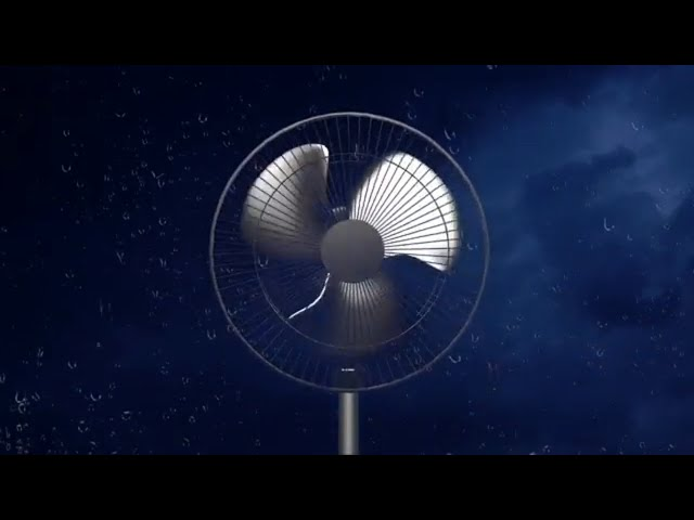 Fan Noise & Thunderstorm Sounds for Sleeping and Relaxing   White Noise Fan Sounds