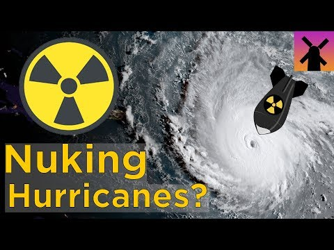 What Happens If You Drop a Nuclear Bomb Into a Hurricane? (видео)