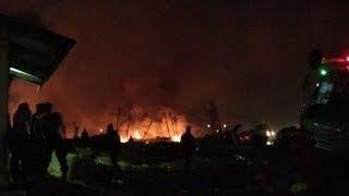 Kebakaran di Pelabuhan Muara Baru Masih Terjadi, Petugas Tak Bisa Prediksi Kapan Selesai