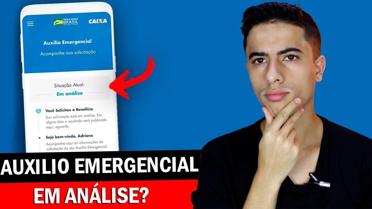 AUXILIO EMERGENCIAL ainda está em ANÁLISE? Entenda os motivos!
