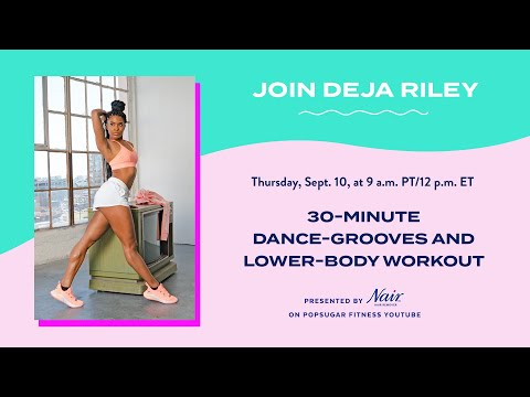 30-Minute Dance Grooves and Lower-Body Workout