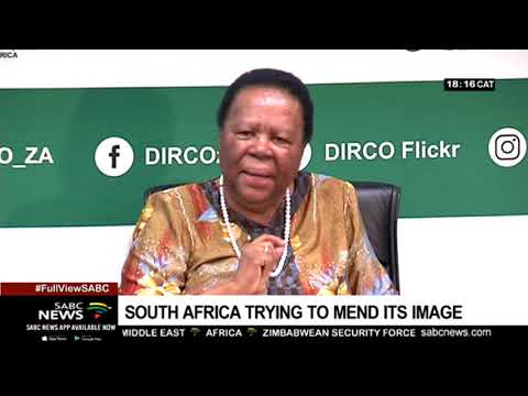 South Africa on a mission to mend its image
