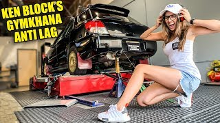 """WE PUT KEN BLOCK'S GYMKHANA TUNE ON MY SUBARU AND IT""""S ABSOLUTELY MENTAL!!"""