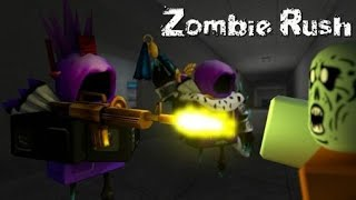 Играем в zombie rash в роблоксе
