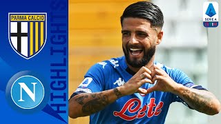 Parma 0-2 Napoli   Mertens and Insigne Seal Winning Start for Napoli as Osimhen Debuts   Serie A TIM