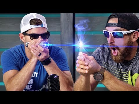 World's Strongest Laser | Overtime 5 | Dude Perfect  HD Mp4 3GP Video and MP3