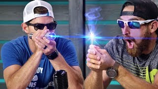 Gambar cover World's Strongest Laser | Overtime 5 | Dude Perfect