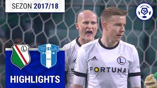 Legia Warszawa - Wisła Płock 0:2 [skrót] Sezon 2017/18 Kolejka 21