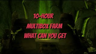 wow 10 hour primal fire multibox farm